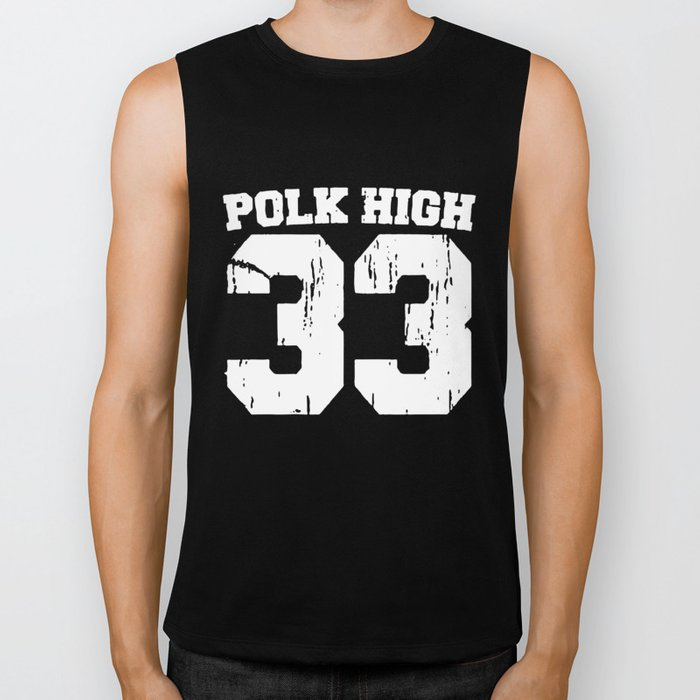 Al Bundy Polk High School Married With Children Football T-Shirts Biker Tank