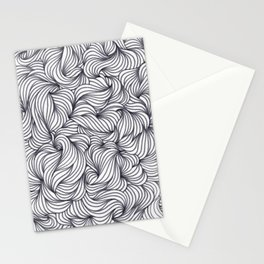 Twisting Waves Stationery Cards