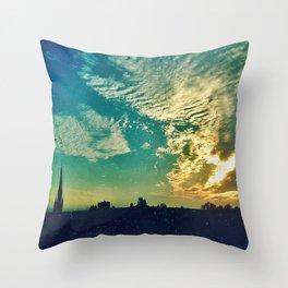 Charleston Skies Throw Pillow