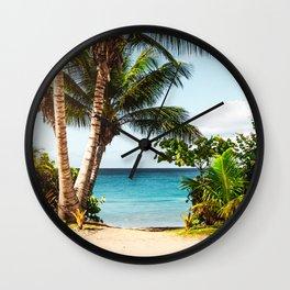 Ocean Travel Tropical Beach Wall Clock