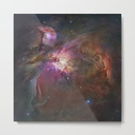 The Orion Nebula by Hubble Space Telescope Metal Print