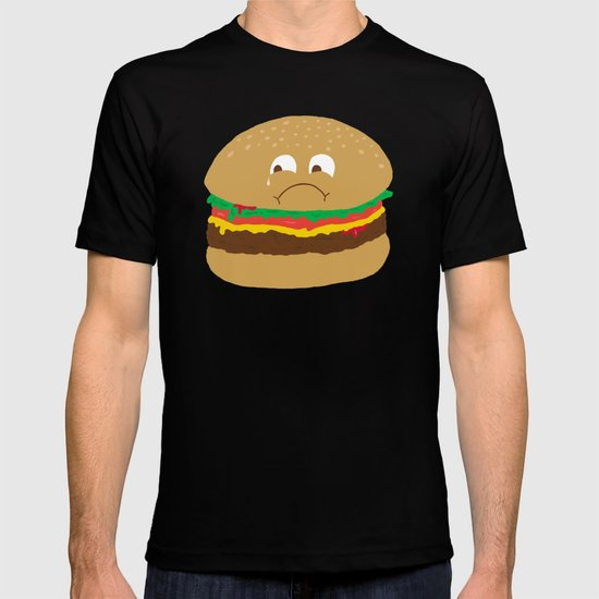 Sad Hamburger T-shirt