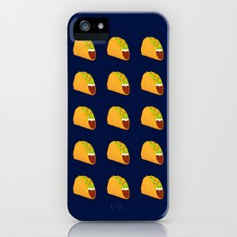 Pixel Taco iPhone Case