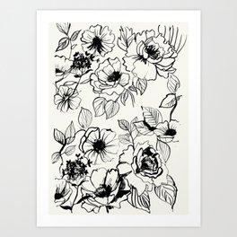 florid Art Print