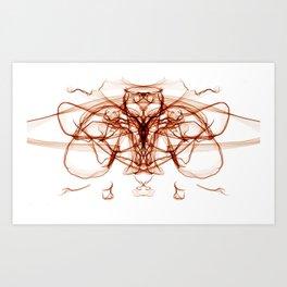Bloodlust Butterfly Art Print