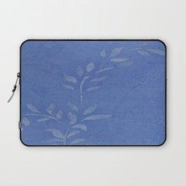 Pretty Vine Blue  - Decor - Women - Tech - Floral - Home Laptop Sleeve