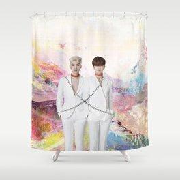 Chained Up Hyuken Shower Curtain