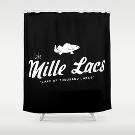 LAKE MILLE LACS Shower Curtain