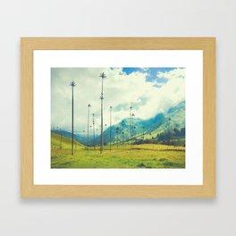 Wax Palms of Salento, Colombia Fine Art Print Framed Art Print