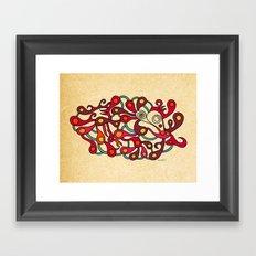 - link - Framed Art Print