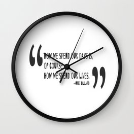 Days of our lives Wall Clock