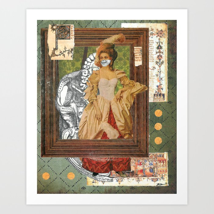 Poison Mistress Art Print