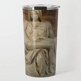 Michelangelo's Pieta Travel Mug