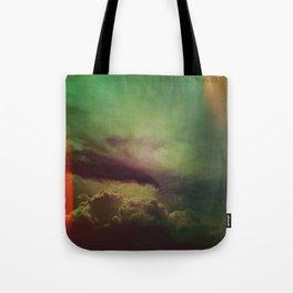 rising clouds Tote Bag