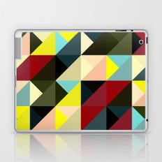 Diagonal triangle pattern Laptop & iPad Skin