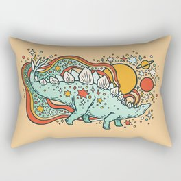 Star Stego | Retro Reptile Palette Rectangular Pillow