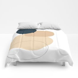 You already have it - You already are - Serie sentir - Modern Minimalist (with quote) Comforters