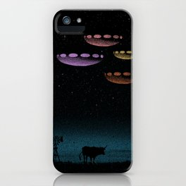 Mysteries of the Night Sky iPhone Case