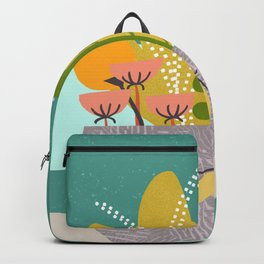 Succulent Garden with Moth Backpack