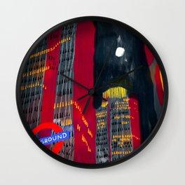 London Night Wall Clock