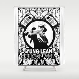 Yung Lean - Stackin it Shower Curtain