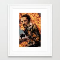 mad max Framed Art Prints featuring Mad Max by SB Art Productions