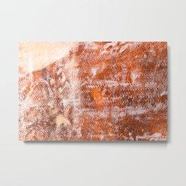 Repaired fiberglass shipboard Metal Print