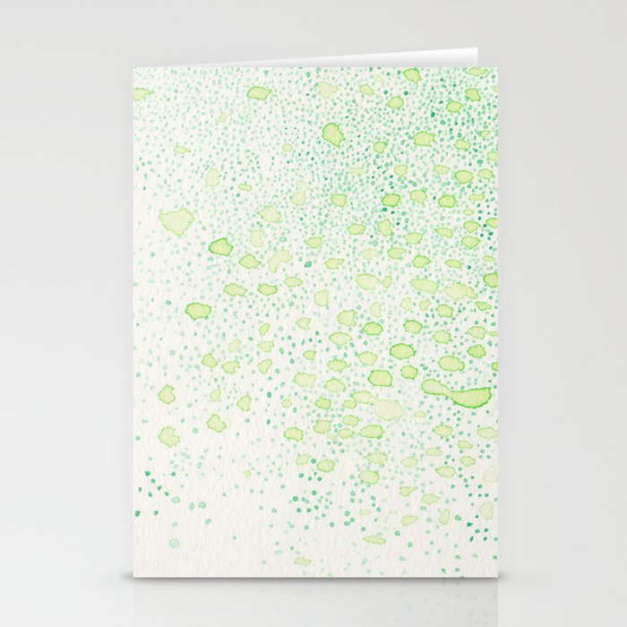 flavor of young leaves Stationery Cards