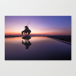 Reflections at the End of the Trail Canvas Print