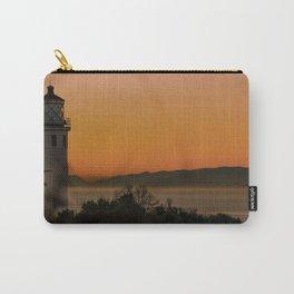 Palos Verdes light house at sunrise Carry-All Pouch