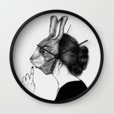 Peculiar III Wall Clock