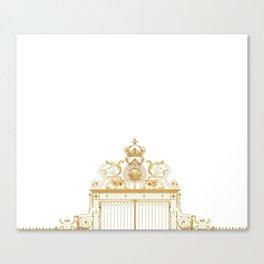 Versailles Golden Gates France Canvas Print