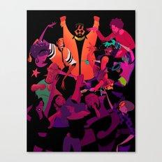 Groovy Canvas Print