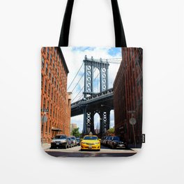 That Brooklyn View - The Empire Peek Tote Bag
