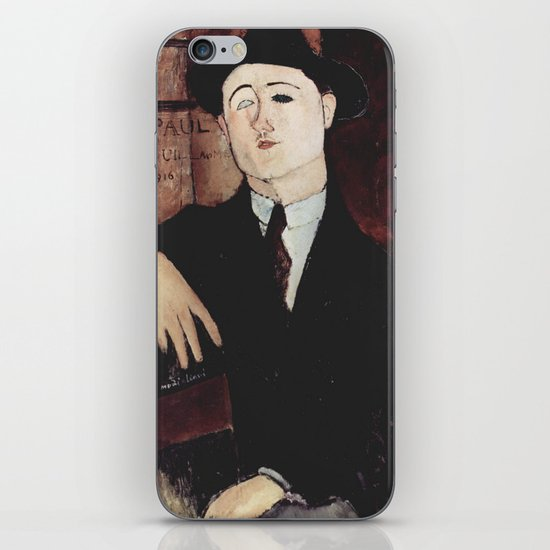 Paul Guillaume by Amedeo Modigliani by constantchaos