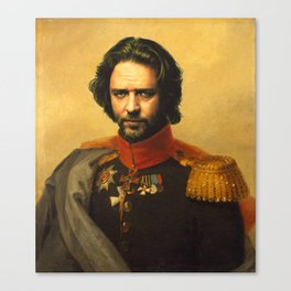 Russell Crowe - replaceface Canvas Print