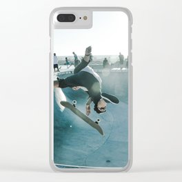 Skate Park Clear iPhone Case