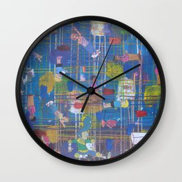 Viva La France 13 Wall Clock