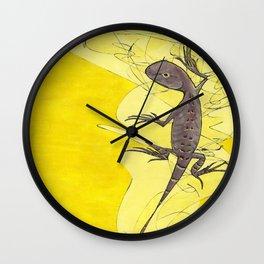 Frank the Lizard Wall Clock