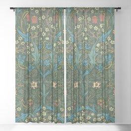 "William Morris ""Blackthorn"" 1. Sheer Curtain"