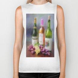 Wine Time Biker Tank