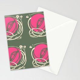 "Charles Rennie Mackintosh ""Roses"" (1) Stationery Cards"