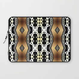 Gold and Black Laptop Sleeve