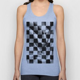 Chequered Flag Unisex Tank Top