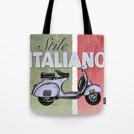 Stile Italiano Tote Bag