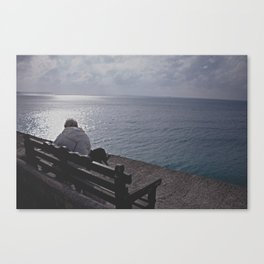 By The Sea! Canvas Print