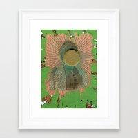 big bang Framed Art Prints featuring Big Bang by Naomi Vona