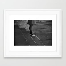 Waiting for Prince Charming (Five Minutes to Midnight) Framed Art Print