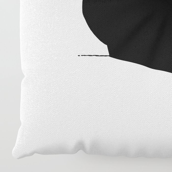 Rock Floor Pillows : Rabbit Rock and Roll Hand Shadow Floor Pillow by mobii Society6