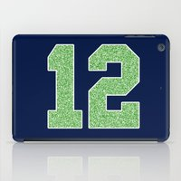 seahawks iPad Cases featuring 12th Man by rhaverlock